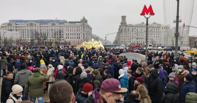 Протест против протеста. 23.01.21 нам объявлена война.