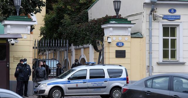 Эгрегориальное послание штатам в виде тарана резиденции посла США в Москве